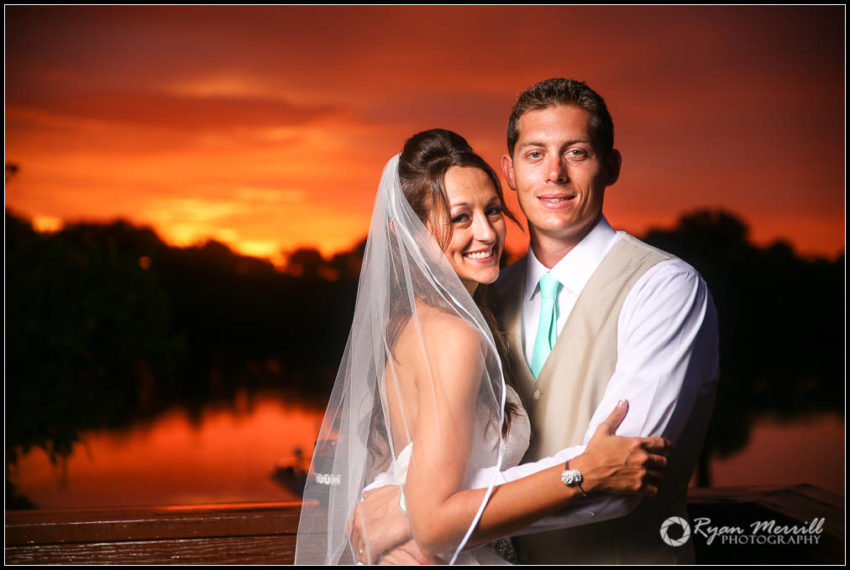 awesome sunset wedding formals