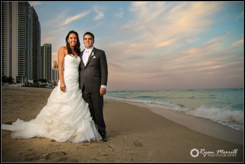 beach formals wedding sunset fort lauderdale