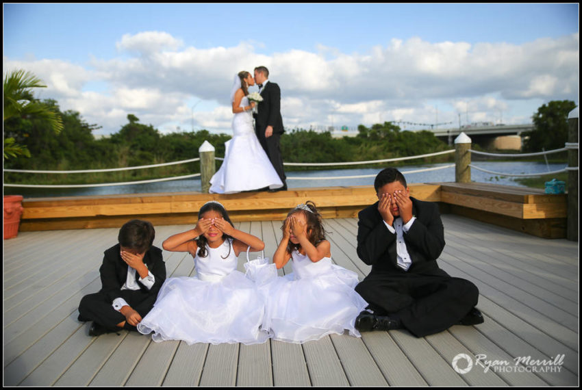 cute children wedding formal photo idea
