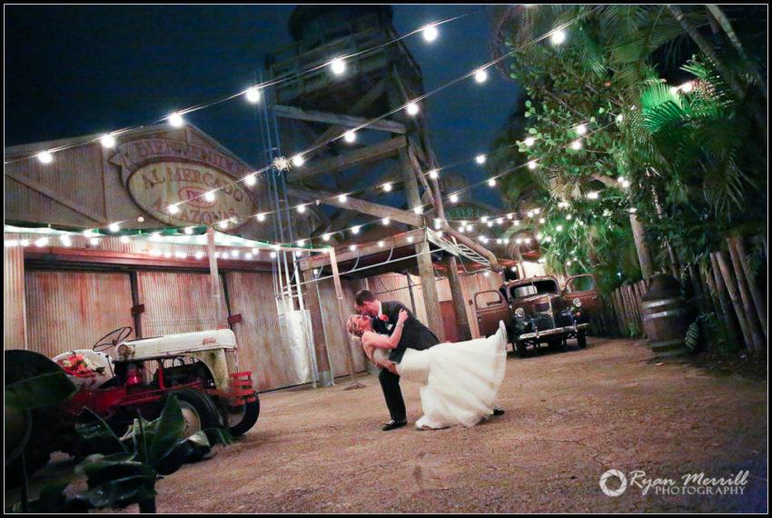 Palm Beach Zoo Night Photo Wedding Formals