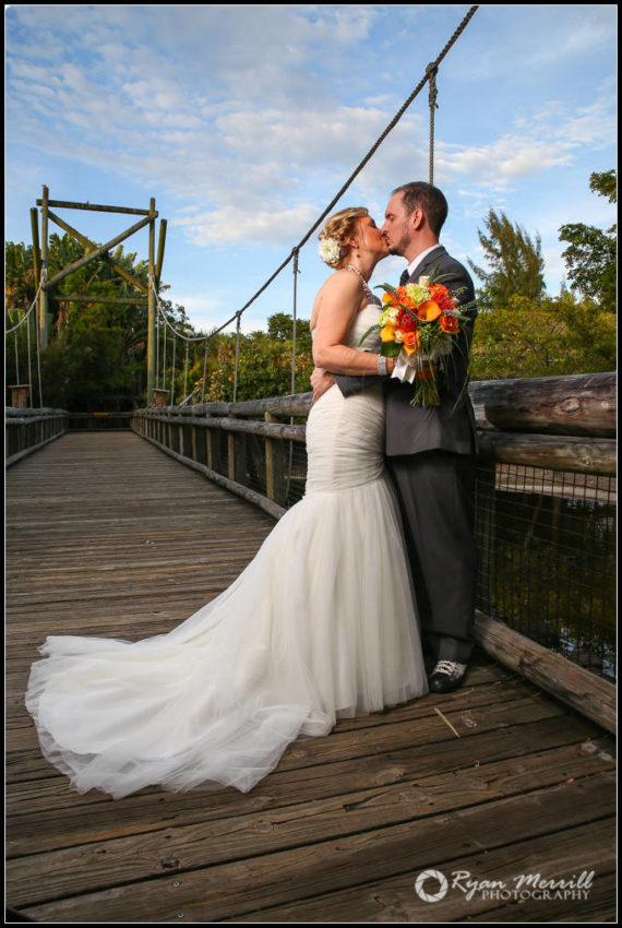 Palm Beach Zoo Wedding