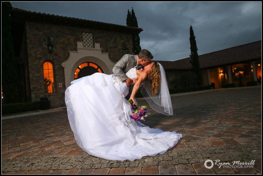 Rainy Wedding Formal Dip