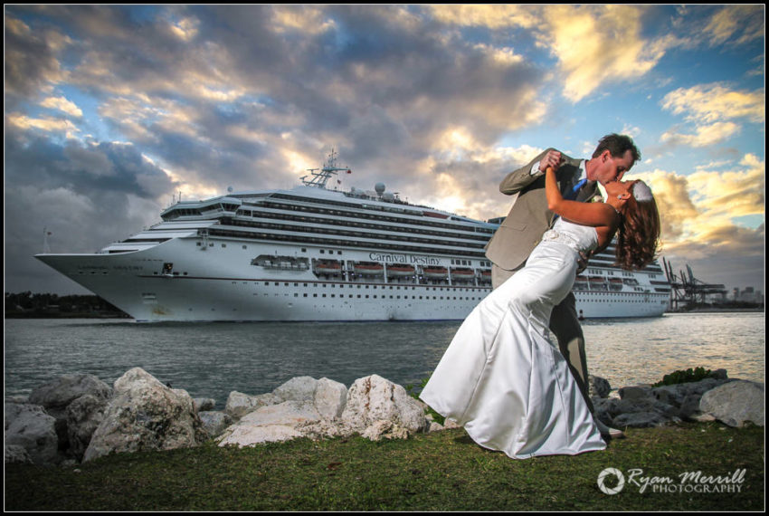 wedding cruise ship south florida miami dip
