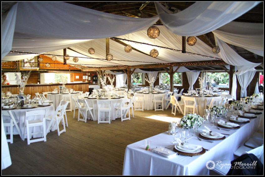 Wedding Reception Venue Jupiter Civic Center Decorated Rustic