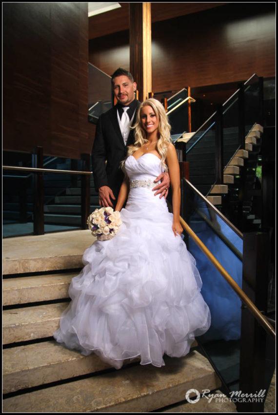 wedding formal photo stairs