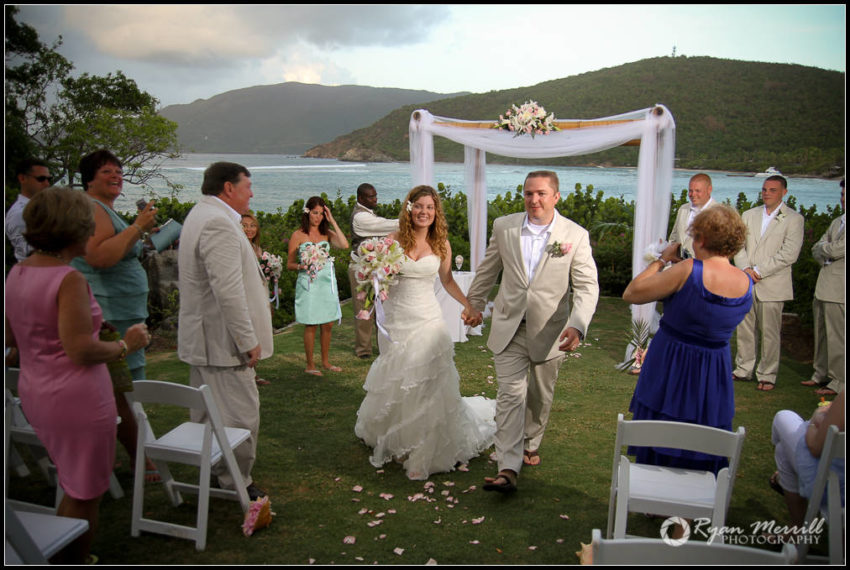 Wedding Ceremony British Virgin Islands