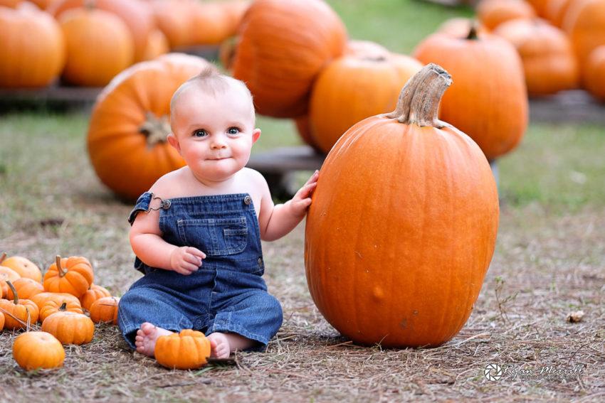 Cute Kid Fall Photos